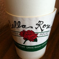 Photo taken at Bella Rosa Coffeehouse by Jay L. on 6/2/2011