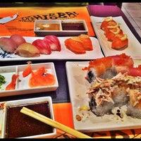 Photo taken at Hiroba Sushi by sigrid u. on 3/9/2011