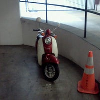 Photo taken at lonely bella the scooter at new job by Erin T. on 5/3/2012