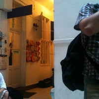 Photo taken at 11 Hour Cinema Hostel by Laura on 5/21/2012