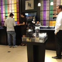 Photo taken at Nespresso by Marcos F. on 4/18/2012