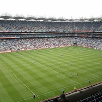 Photo taken at Croke Park by Mark T. on 9/18/2011