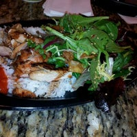 Photo taken at SanSai Japanese Grill by Jessica G. on 2/23/2012