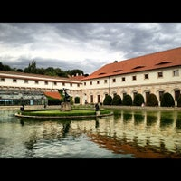 Photo taken at Wallenstein Garden by Branislav T. on 8/7/2012