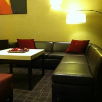 Photo taken at Hampton Inn Manhattan Times Square North by Carter L. on 3/22/2012