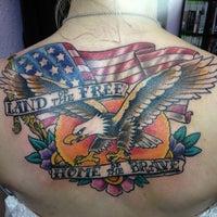 Photo taken at Tat2fiend Tattoo & Piercing by Thomas B. on 1/8/2012