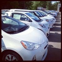 Photo taken at Maplewood Toyota by Branden F. on 5/7/2012