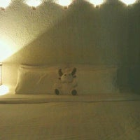 Photo taken at la a natu bed & bakery by driftkhiing on 12/1/2011