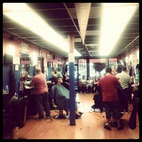 Photo taken at HomeTeam Barbershop by Mil V. on 8/19/2012