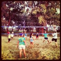 Photo taken at Whiskey Island Volleyball Courts by Gregory W. on 8/1/2012