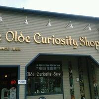 Photo taken at Ye Olde Curiosity Shop by Margot W. on 8/6/2012