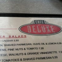 Photo taken at Cafe Deluxe by Paul A. on 4/1/2012