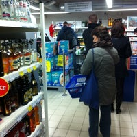 Photo taken at Tesco Expres by Honza D. on 1/19/2011