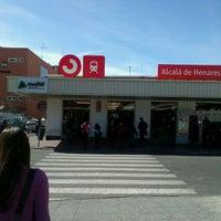 Photo taken at Cercanías Alcalá de Henares by Nacho F. on 3/5/2012