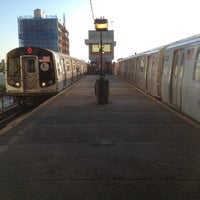 Photo taken at MTA Subway - Astoria/Ditmars Blvd (N/W) by Brian 😜 C. on 8/28/2012