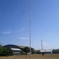 Photo taken at KONI sport centre by Aulia R. on 7/17/2012