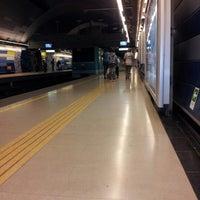 Photo taken at Metro Pudahuel by Rodrigo A. on 7/10/2012