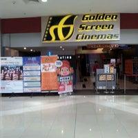 Photo taken at Golden Screen Cinemas (GSC) by Ttj T. on 1/24/2012