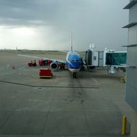 Photo taken at Rick Husband Amarillo International Airport (AMA) by Kyle J. on 7/16/2012