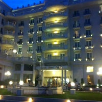 Photo taken at Grand Hotel Palace by Victoria on 8/13/2012