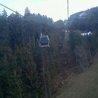 Photo taken at Intermedia Funivia Alpe Cermis by Alessandro P. on 12/9/2011