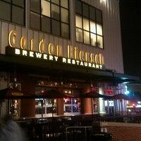 Photo taken at Gordon Biersch Brewery Restaurant by Kayla on 12/23/2011