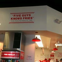 Photo taken at Five Guys by Paul R. on 1/21/2012