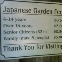 Photo taken at Shinzen Japanese Garden by Candace K. on 9/24/2011
