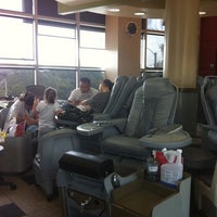 Photo taken at Happy Nails & Spa by Leesa S. on 8/11/2011