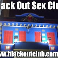 Photo taken at Black Out Sex Club by comovc d. on 7/17/2012