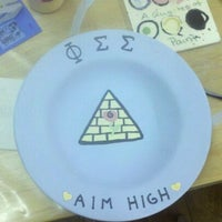 Photo taken at Rider University - Phi Sigma Sigma by Erin M. on 3/1/2011