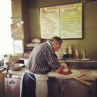 Photo taken at Di Fara Pizza by Karol M. on 8/8/2012