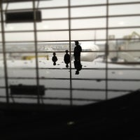 Photo taken at Gate A72 by Andrew M. on 2/24/2012