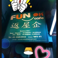 Photo taken at Fun OK Cafe by Stanley L. on 8/3/2012