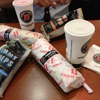 Photo taken at Jimmy John's by Laurice on 8/11/2012