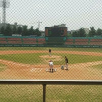 Photo taken at Cheongju Baseball Stadium by Jongduk B. on 5/25/2012