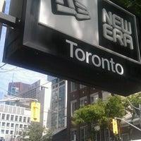 Photo taken at New Era Flagship Store: Toronto by John H. on 6/15/2012
