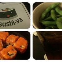 Photo taken at sushi-ya by PrincesSani 2. on 8/26/2012