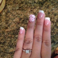 Photo taken at Carnation Nails by Jaqueline G. on 3/29/2012