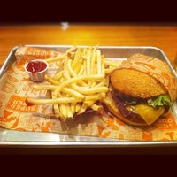 Photo taken at Super Duper Burgers by Henley N. on 9/1/2012