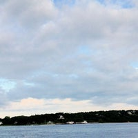 Photo taken at Shelter Island North Ferry - Greenport Terminal by Chris V. on 6/2/2012
