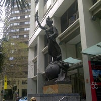 Photo taken at 56 Pitt Street Sydney by Virginia G. on 9/1/2012