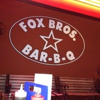 Photo taken at Fox Bros. Bar-B-Q by Michelle A. on 6/5/2012