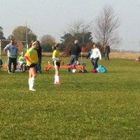 Photo taken at Little Dog Soccer Fields by Matt T. on 11/5/2011