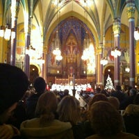 Photo taken at Cathedral of the Madeleine by Eli M. on 12/24/2011