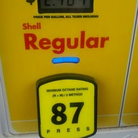 Photo taken at Shell by Nick A. on 7/1/2012