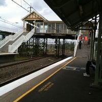 Photo taken at Flemington Station by Wendy K. on 1/27/2011