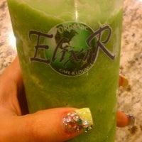 Photo taken at Elixir Organic Cafe And Lounge by Samiha G. on 2/23/2012