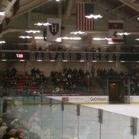 Photo taken at Bright Hockey Center by Sheldon R. on 1/29/2012