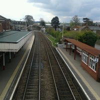 Photo taken at Oakham Railway Station (OKM) by Martin B. on 4/24/2012